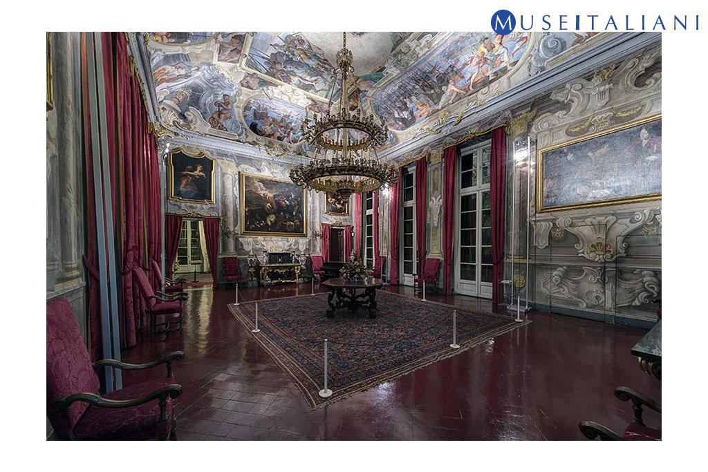 Galleria nazionale di Palazzo Spinola, Genova. Salone, secondo piano nobile