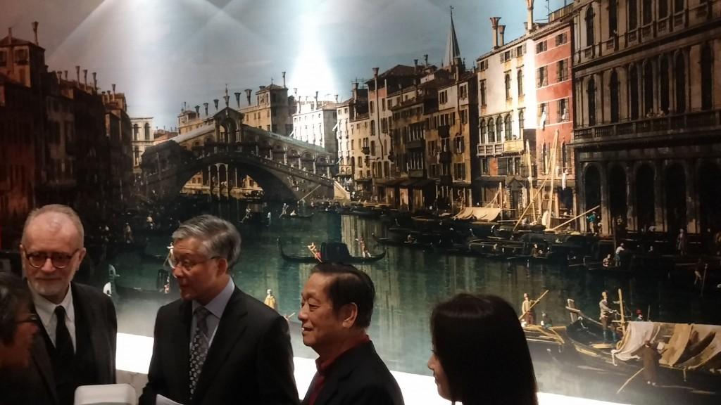 Inaugurazione Mostra Gloria di Luce e Colore a Pechino