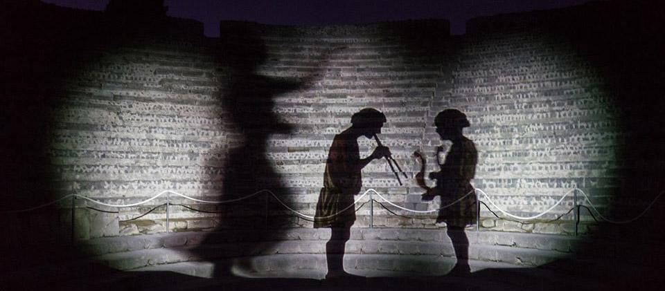 Percorsi di visita serali agli scavi di Pompei ed Ercolano