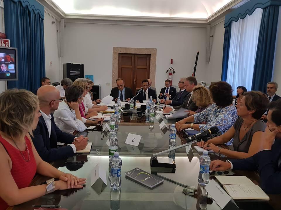 Riunione plenario Ministro e Direttori musei MiBAC