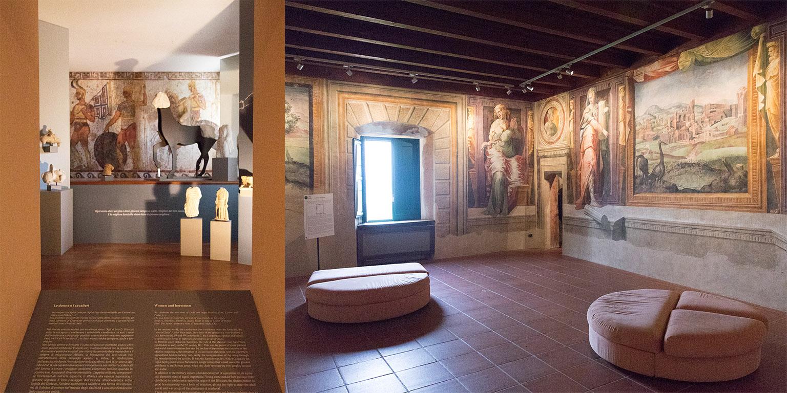 Museo Sannitico, Campobasso Castello di Capua