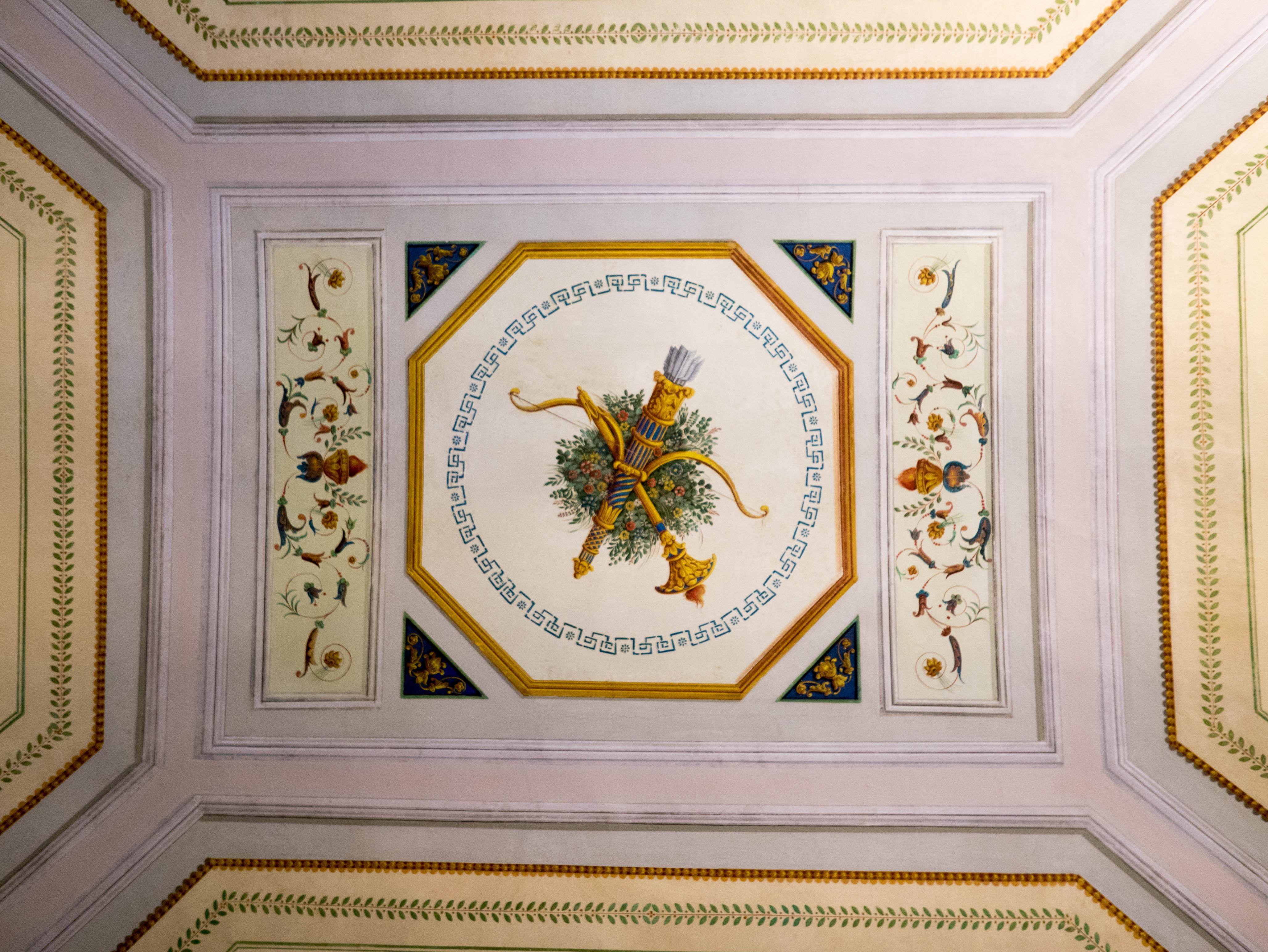 Casa D'Annunzio - Soffitto