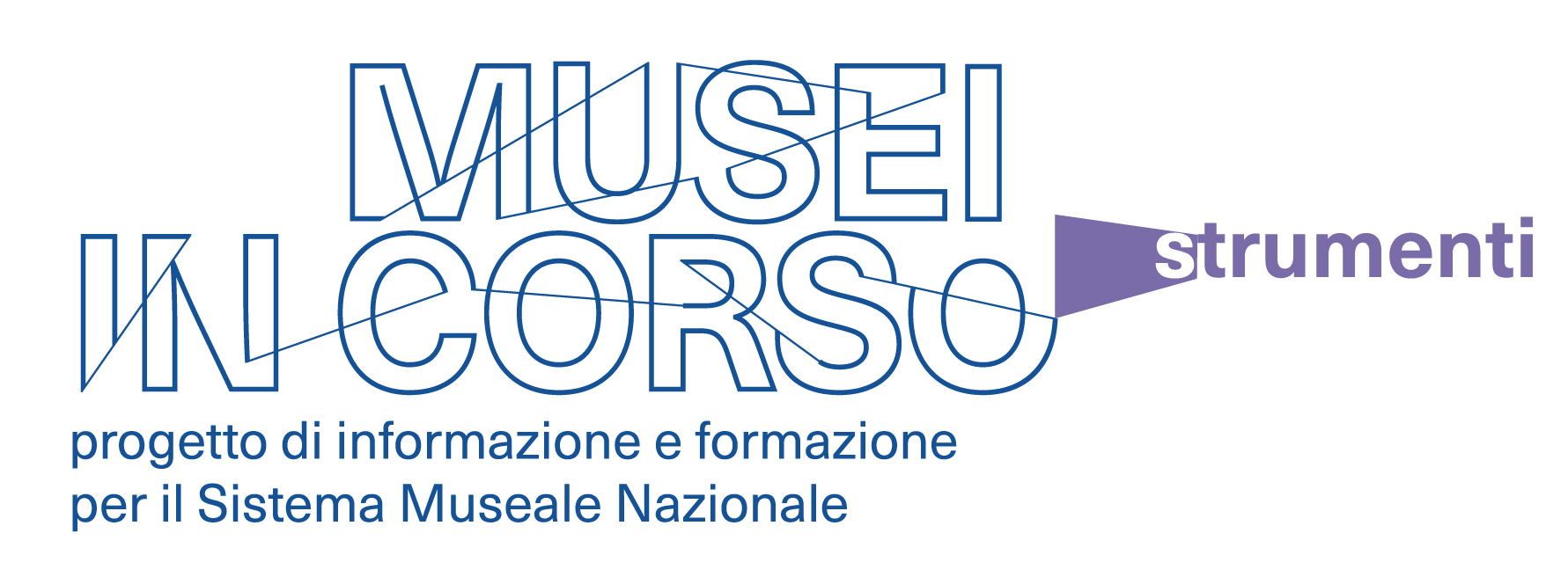 musei in corso lettering strumenti DEF
